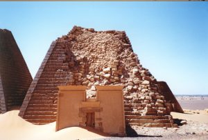 Pyramide in Meroe Foto: K. Aldenhoven